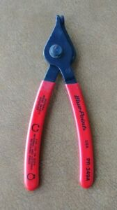 Blue Point Tools 7 1 2 Long 90 Fixed Tip Convertible Snap Ring Pliers Pr349a