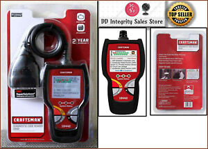 New Craftsman Diagnostic Scan Tool Car Scanner Code Reader Auto Obd2 Abs 0918442