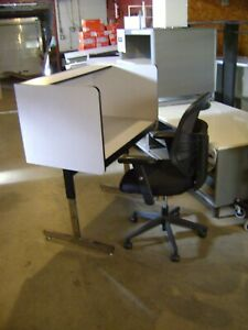 Smith Carrel Home Work Station Private Cubical Personal Space Desk Table