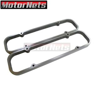 Pontiac Polished Aluminum Valve Cover Spacers 1 Riser 326 350 389 400 455 Hot