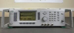 Anritsu 68369a nv 10mhz 40ghz Synthesized Signal Generator W Opts 2b 11 Cal d