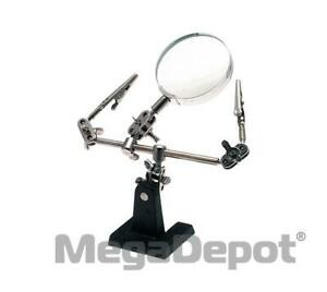 Aven 26000 Helping Hand With 2x Magnifier Alligator Clamps