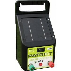 Patriot Solar Fence Charger Energizer Ps5