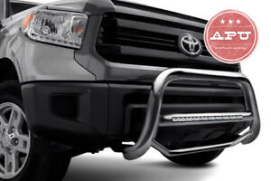 Apu 1996 2001 Ford Explorer Ranger Stainless Led Bull Bar Bumper Brush Guard