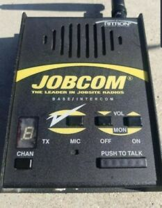Ritron Jbs 446d Jobcom Wireless 450 470 Mhz Mobile Base Station