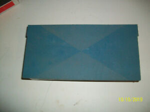 Gm Tissue Dispenser Blue Plastic Possibly 1960 S 1970 S Buick Cadillac Chevrolet