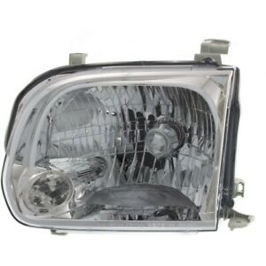 Headlight For 2005 2007 Toyota Sequoia Driver Side