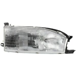 Headlight Lamp Right Hand Side Passenger Rh For Camry 92 94 To2503105 8111006011