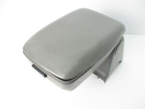 Mustang Gt Lx Fox Body Center Console Arm Rest Lid Top Pad Cover Gray 87 93