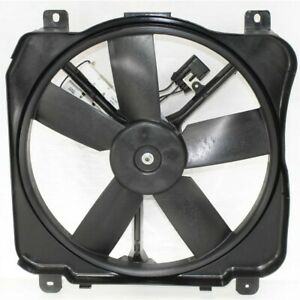 Cooling Fan Assembly Left Hand Side For Olds Le Sabre Ninety Eight Driver Lh