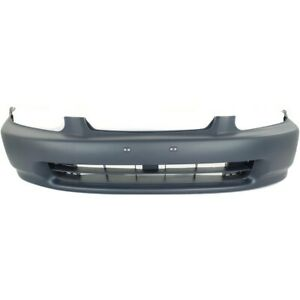 Bumper Cover Front Coupe Sedan For Honda Civic 1996 1998 Ho1000172 04711s01a00zz