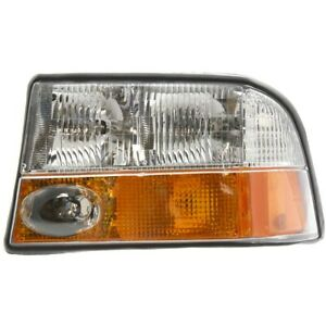 16526225 Gm2502173 Headlight Lamp Left Hand Side For Olds Driver Lh Gmc Sonoma