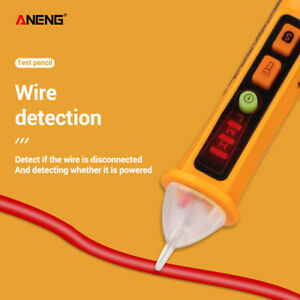 Ac 12 1000v Lcd Electric Test Pen Voltage Digital Detector Tester Non contact