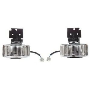 Fog Lights Lamps Set Of 2 Front Left and right Lh Rh Ch2593115 Ch2592115 Pair