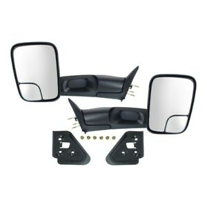 Mirrors Set Of 2 Left and right For Ram Truck Lh Rh Ch1321332 Ch1320332 Pair