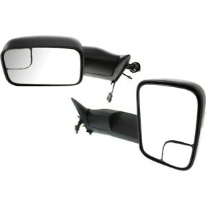 Mirror For 94 97 Dodge Ram 2500 Driver And Passenger Side Set Of 2