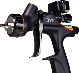 Devilbiss Dv1 Clear Digital Spray Gun Only C1 1 2