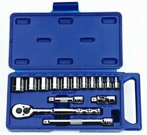 Williams 50673 3 8 Inch Drive Socket And Drive Tool Set 15 Piece