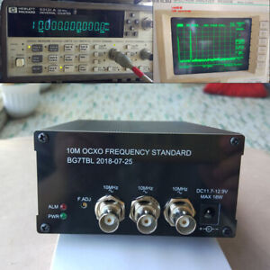 1pc 10mhz Ocxo Frequency Standard Reference 2 Channel Sine Wave 1 ch Square Wave