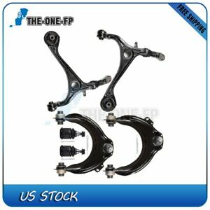 For 2003 2007 Honda Accord Control Arm Ball Joint 6 Pcs Steering Parts