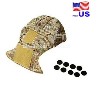 FMA Tactical Airsoft Military Combat AFCP AirFrame Mesh Helmet Cover Multicam