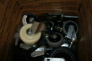 29 Lbs Lot Of 20 Assorted Medium Casters
