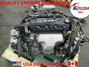 Jdm 98 02 Honda Accord Engine Accord 2 3l Transmission Automatic F23a Mgpa Mcja