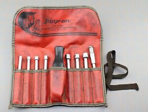 Snap On Tools Nd190 Nut Driver Set Interchangeable 9 Pc W Bag Pouch 3 16 3 8