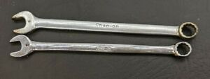 Set Of 2 Snap On Wrenches 8mm 7mm 12 Point Oexm7 Oexm8