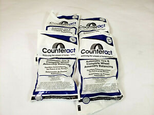 4 Bags 12oz Counteract Tire Balance Bead Bags