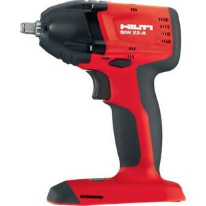 Hilti Siw 22 a 3 8 Cordless Brushless Impact tool Only New