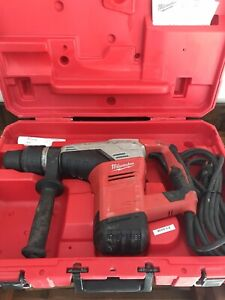 Milwaukee 5317 21 1 9 16 Sds Max Corded Electric Rotary Hammer Drill Kit W Case