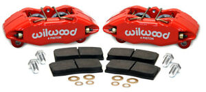 Wilwood Forged Dpha Front Caliper Kit Red For Acura Integra Honda Accord Civic