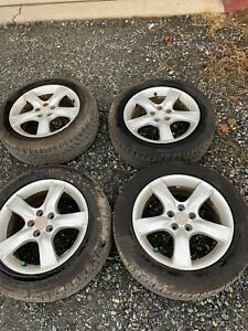 2002 2003 2004 2005 2006 2007 Subaru Impreza Oem Wheels Rim Tires 16 5x100 Set