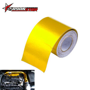 2 x16 Reinforced Tape Heat Shield Adhesive Backed Resistant Wrap