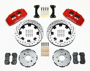 Wilwood Forged Dynapro 6 Big Brake Front Brake Kit For Acura Integra Honda Civic
