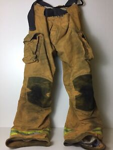 Lion Apparel Pvfm 40 4xl Structural Fire Fighting Pants Ptfe Therm Liner