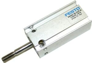Up To 2 New Festo 158669 Spring Return Air Cylinders 59 Stroke Emmz 16 15 p a