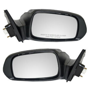 Fits Scion Tc 05 10 Set Of Side View Power Mirrors W Signal Glass