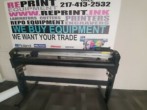 Used Graphtec Fc8000 130 54 Cutting Plotter Vinyl Cutter Fc8600