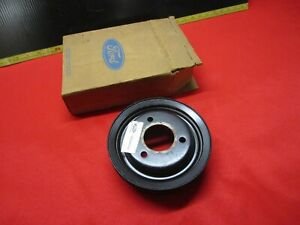 1968 1971 Ford Mustang Torino Fairlane Galaxie Crankshaft Pulley 390 428 Nos