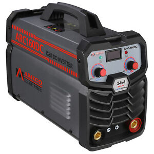 Arc 120 120 Amp Stick Arc Dc Inverter Welder Igbt Digital Display Lcd Welding