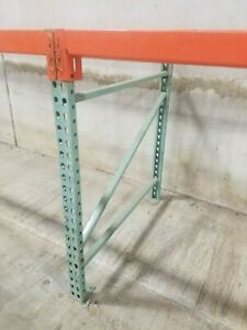 48 Tall Pallet Rack Uprights 42 Deep Makes A Great Workbench Beams Available