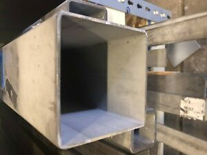 4 X 4 X 250 Wall Stainless Steel Square Tube 18 Length