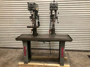 Clausing 1685 15 Two Headed Drill Press Variable Speed gmt 2065