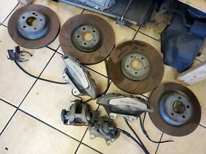2012 17 18 Mercedes Cls550 Set Of 4 Brembo Front Rear 218 Type With Calipers