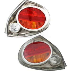 Set Of 2 Tail Lights Lamps Left And Right Lh Rh Ni2818109 Ni2819109 Pair