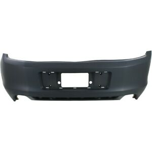 Dr3z17k835aaptm Fo1100687 Bumper Cover Rear For Ford Mustang 2013 2014