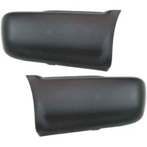 Pair Set Of 2 Bumper Face Bar Ends Rear Left and right For Chevy Lh