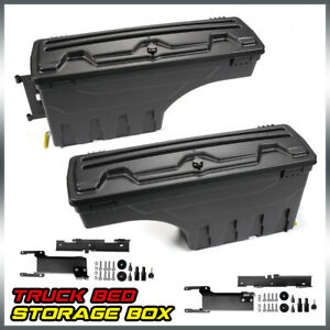 Left Right For F 150 2015 2016 2017 2018 2019 Truck Bed Storage Box Toolbox